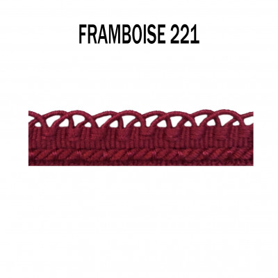 Crête d'Annecy - 12mm - Framboise 221