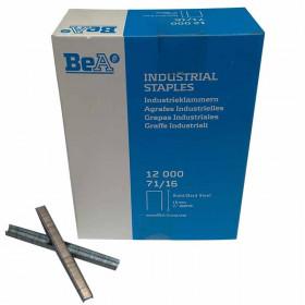 Agrafes type 71 16mm pour agrafeuse pneumatique BEA à 13,90 €