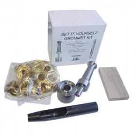Kit de pose œillet Laiton 1,27 cm Osborne N°K235-4 - Outils cuir