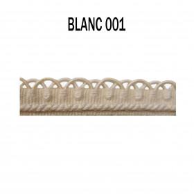Crête - les unis - 12 mm - Blanc 001 à 7,50 €