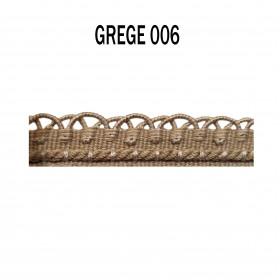 Crête - les unis - 12 mm - Grège 006 - Passementerie