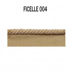 Câblé sur pied 4.5 mm les unis - 004 Ficelle - Passementerie