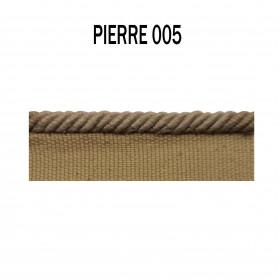 Câblé sur pied 4.5 mm les unis - 005 Pierre - Passementerie