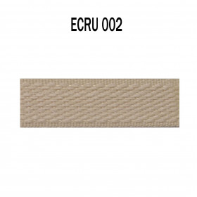 Galon tenture 18 mm - 002 Ecru à 4,50 €