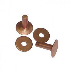 Rivets en cuivre 1,90 cm par 100 - Osborne 1700-8 - Outils cuir