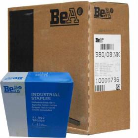 Carton 8 Boites Agrafes type 380 BEA 8mm - 21 000 par boite - Fournitures tapissier
