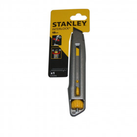 Cutter Stanley Interlock 18mm - Mercerie
