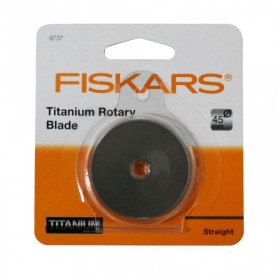 Lame de cutter rotatif 45 mm Fiskars 9737 - Mercerie