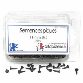 Semences Pique de 11 mm 8/5 les 250 g - Fournitures tapissier