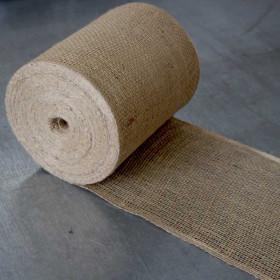 Toile de jute bande de 20 cm - 50 mètres - 200gr/m² - Fournitures tapissier