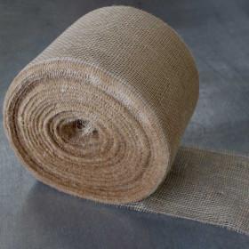 Toile de jute bande de 22 cm - 100 mètres 150gr/m² - Fournitures tapissier
