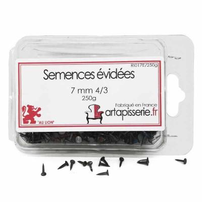 Semences évidées de 07 mm 4/3, les 250 g