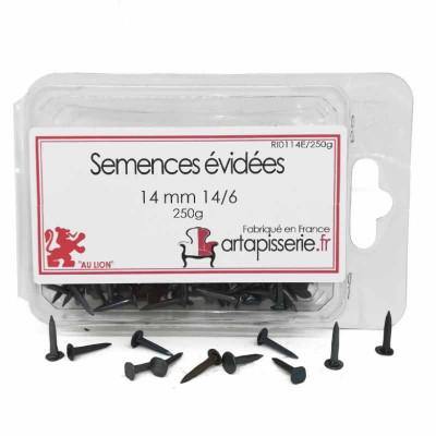 Semences évidées de 14 mm 14/6 les 250 g