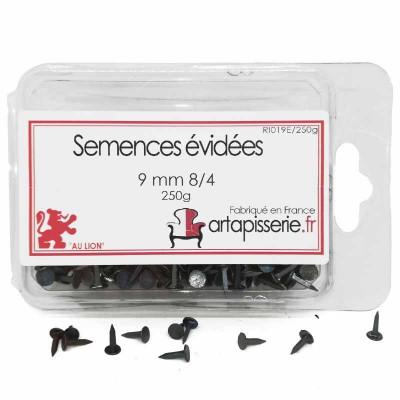 Semences évidées de 09 mm 8/4 les 250 g