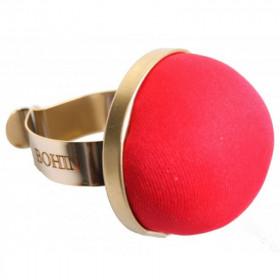 Bracelet porte épingles rouge - Mercerie