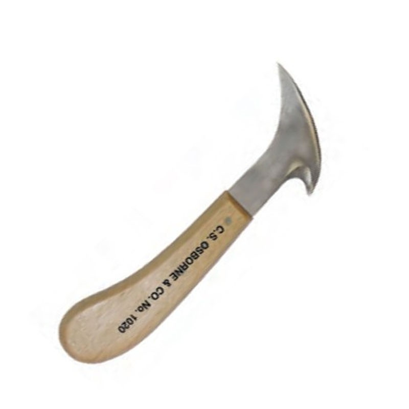 Couteau à dégarnir double lame Osborne N°1020 - Outils tapissier