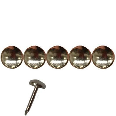 1000 Clous Tapissier Nickelé Perle Fer 8 mm