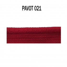 Passepoil sur pied 5 mm - 021 Pavot - Passementerie