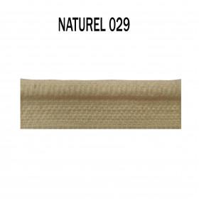 Passepoil sur pied 5 mm - 029 Naturel - Passementerie