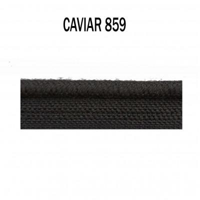 Passepoil sur pied 5 mm - 859 Caviar