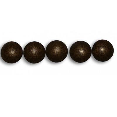 1000 Clous tapissier FAM Vieilli Moyen Perle Fer 10,5mm