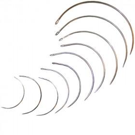 Carrelets courbes fins assortis x10 - Outils tapissier