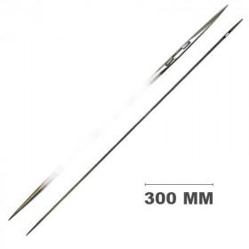 Carrelet droit 2 pointes 300 mm - Outils tapissier