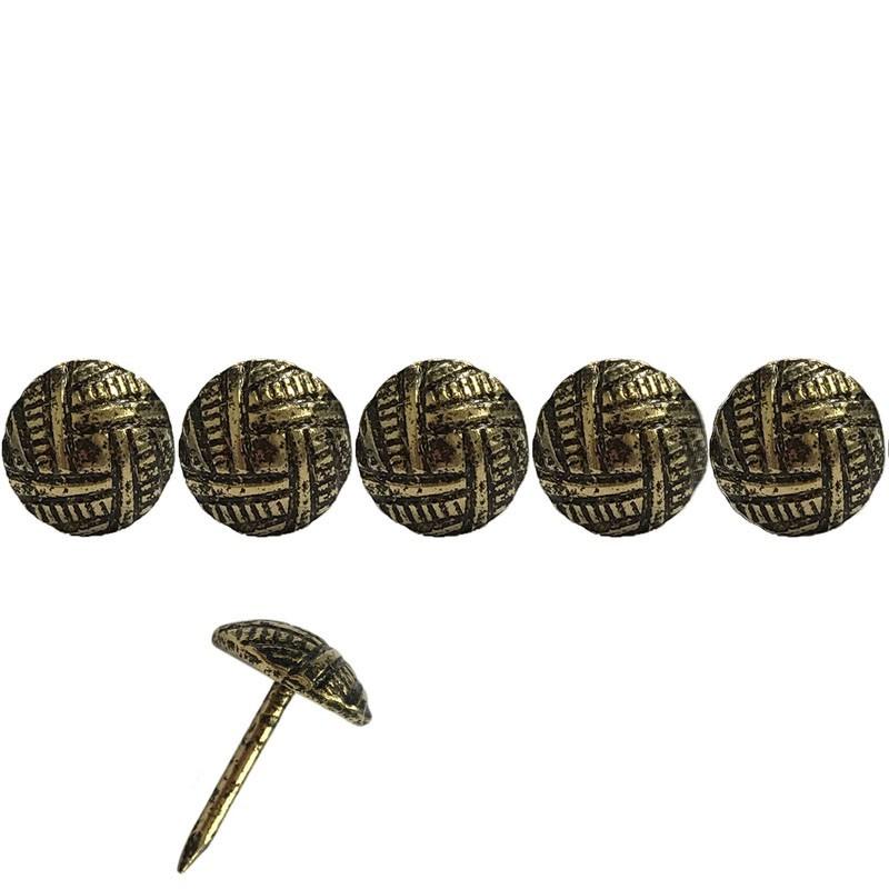 1000 Clous tapissiers martelé Oxford 11 mm - Clous tapissier