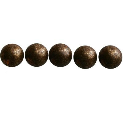 1000 Clous tapissier Vieux Bronze 11,5 mm