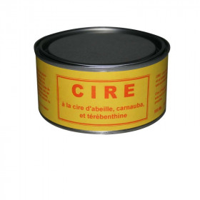 Cire antiquaire naturelle, pot de 500 ml - Fournitures tapissier