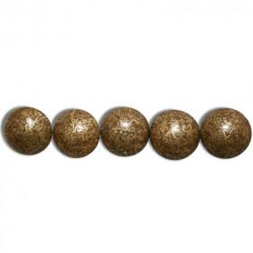 Clous Perle Fer Bronze Doré 10,5mm - Par 100
