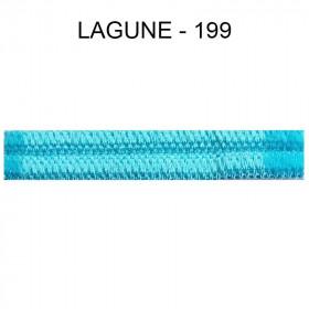 Large Double passepoil 10 mm 43 IDF - Lagune 199 - Passementerie