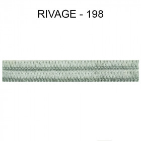 Large Double passepoil 10 mm 43 IDF - Rivage 198 - Passementerie