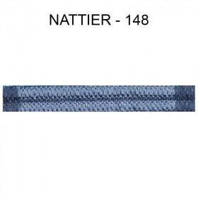 Large Double passepoil 10 mm 43 IDF - Nattier 148 - Passementerie