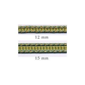Galon chaînette 15 mm le mètre 120 coloris - Passementerie