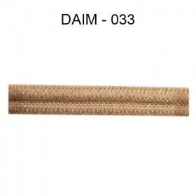 Large Double passepoil 10 mm 43 IDF - daim 033 - Passementerie