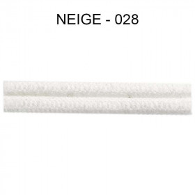 Large Double passepoil 10 mm 43 IDF - neige 028
