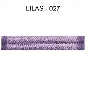 Large Double passepoil 10 mm 43 IDF - lilas 027