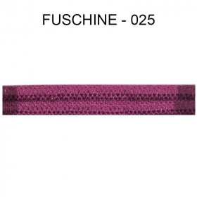 Large Double passepoil 10 mm 43 IDF - fuschine 025