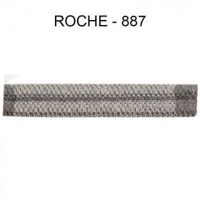 Double passepoil étroit 8 mm 43 IDF - Roche 887 - Passementerie