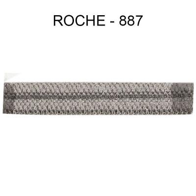 Double passepoil étroit 8 mm 43 IDF - Roche 887