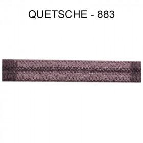 Double passepoil étroit 8 mm 43 IDF - Quetsche 883 - Passementerie