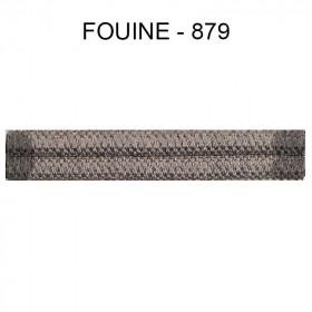 Double passepoil étroit 8 mm 43 IDF - Fouine 879 - Passementerie
