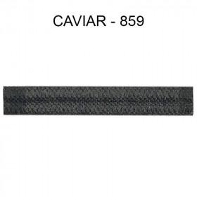 Double passepoil étroit 8 mm 43 IDF - Caviar 859 - Passementerie