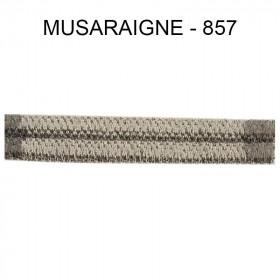 Double passepoil étroit 8 mm 43 IDF - Musaraigne 857 - Passementerie