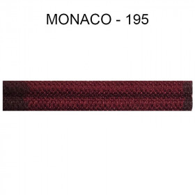 Double passepoil étroit 8 mm 43 IDF - Monaco 195 - Passementerie