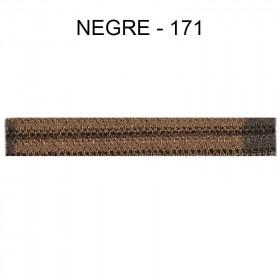 Double passepoil étroit 8 mm 43 IDF - Nègre 171 à 5,88 €