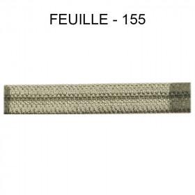 Double passepoil étroit 8 mm 43 IDF - Feuille 155 - Passementerie
