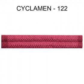 Double passepoil étroit 8 mm 43 IDF - Cyclamen 122 à 5,88 €