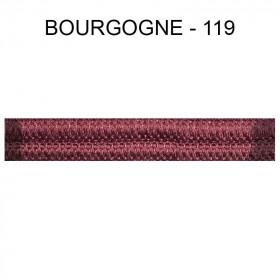 Double passepoil étroit 8 mm 43 IDF - Bourgogne 119 - Passementerie